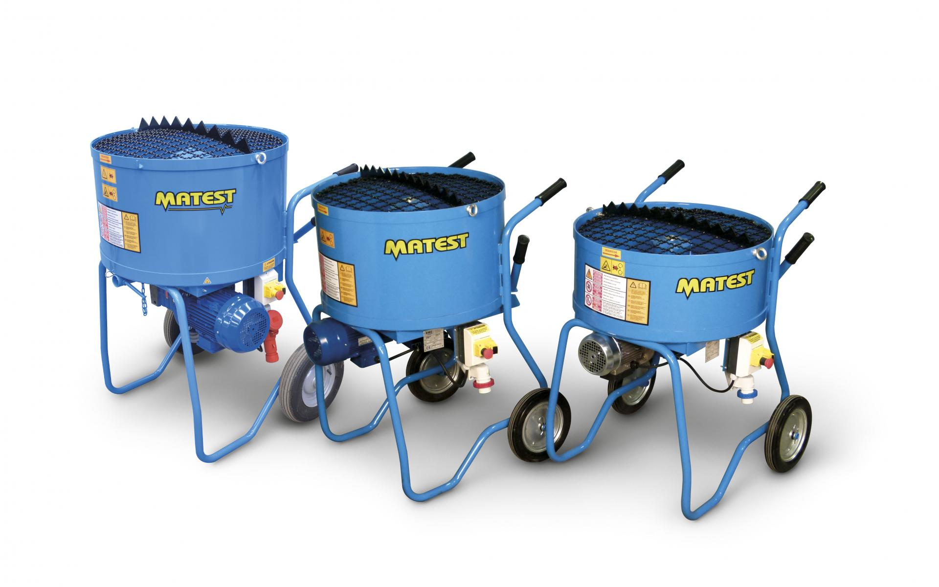 MIXERS FOR CONCRETE