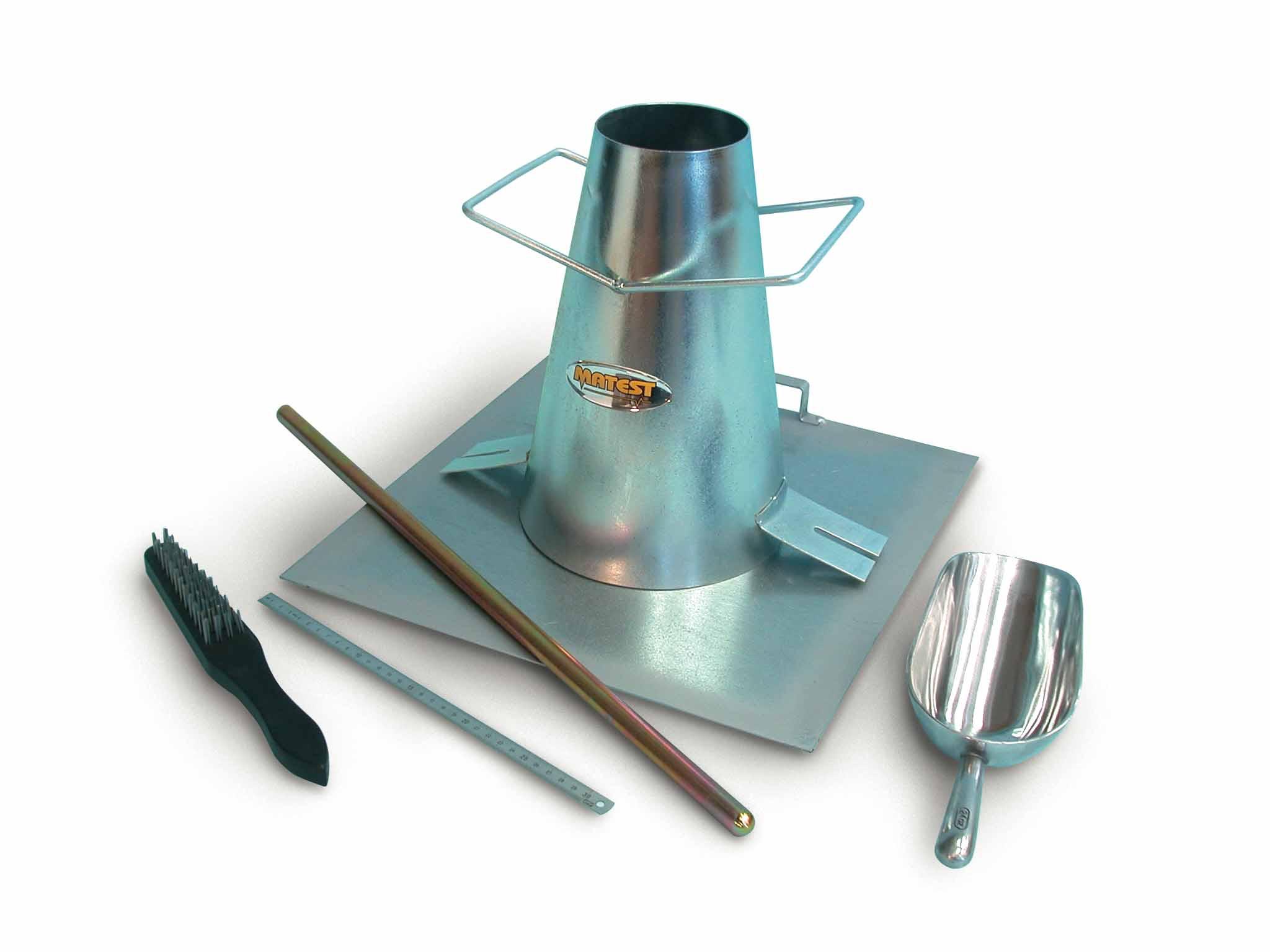Slump Cone Set Galvanized Steel Matest
