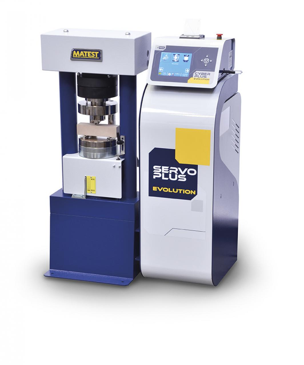 Compression and flexural machine dual range 250/15 kN, Servo-plus evolution