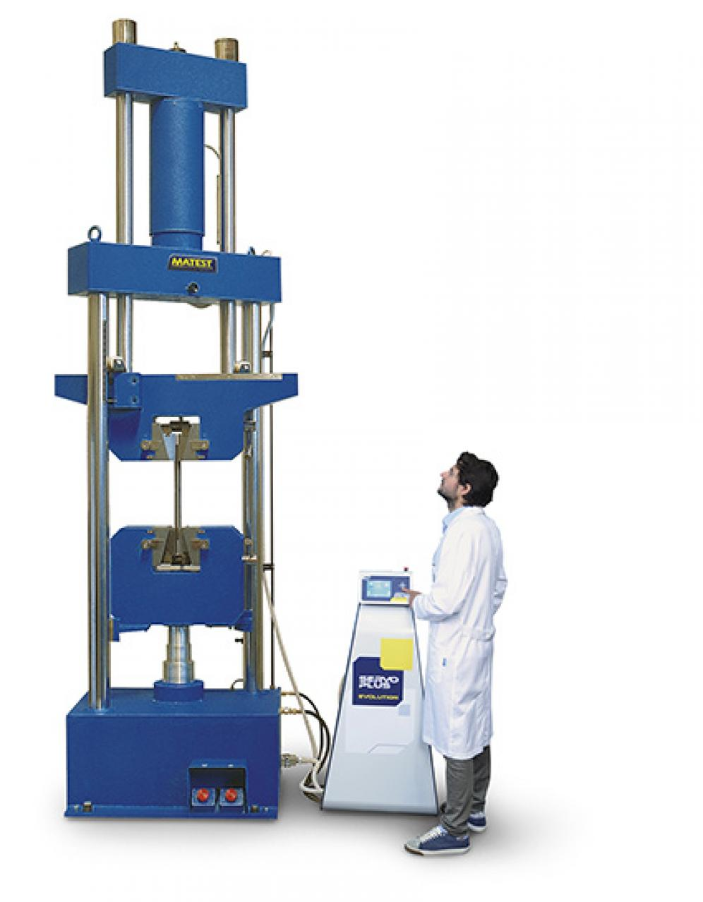 Universal hydraulic servo-controlled machine