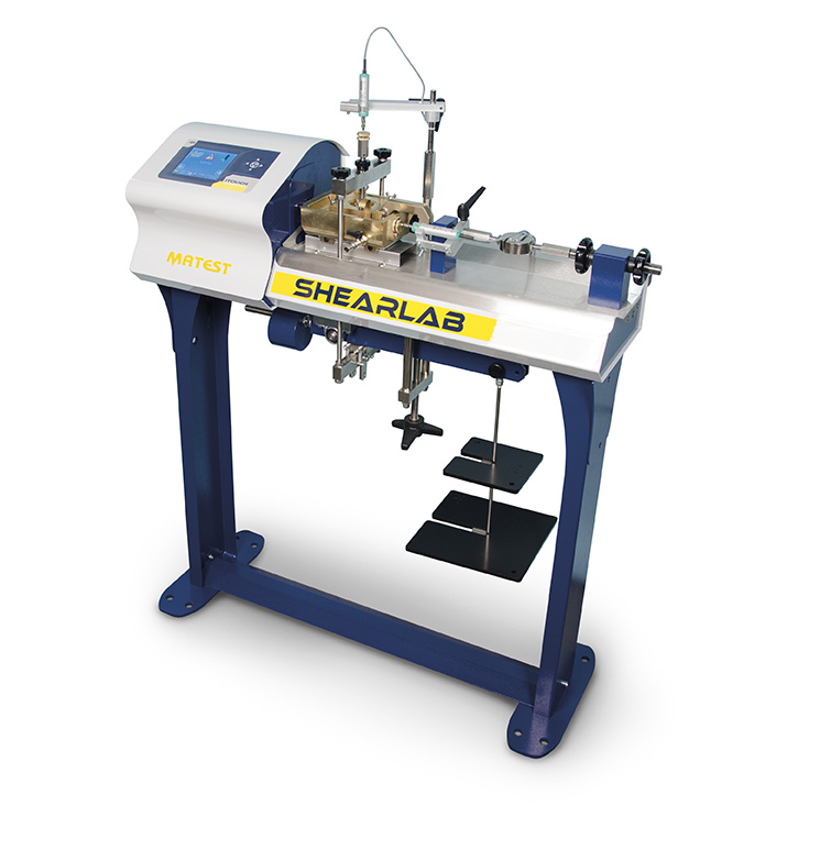 AUTO SHEARLAB - Shear Testing Machine, with Data Acquisition System